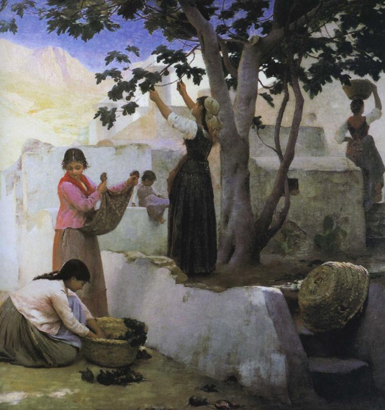 La cueillette des figues